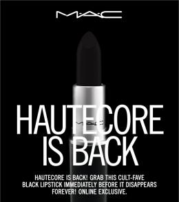 M·A·C Back in Black – HautecoreLipstick