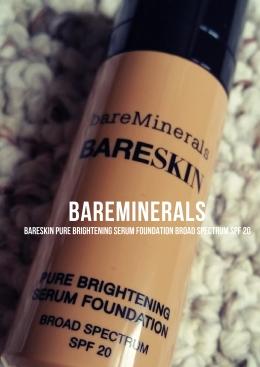 bareSkin Pure Brightening Serum Foundation Broad Spectrum SPF20