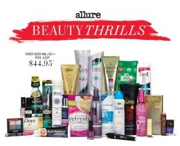 Reminder :New Allure Beauty Thrills Box on saletoday…