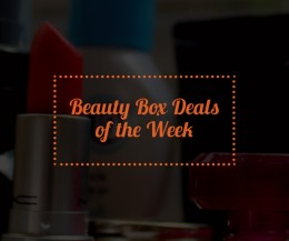 Beauty Box Code, Coupons, Deals and Sales – Week 7 February 2016