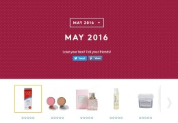 Your May 2016 Birchbox isrevealed…